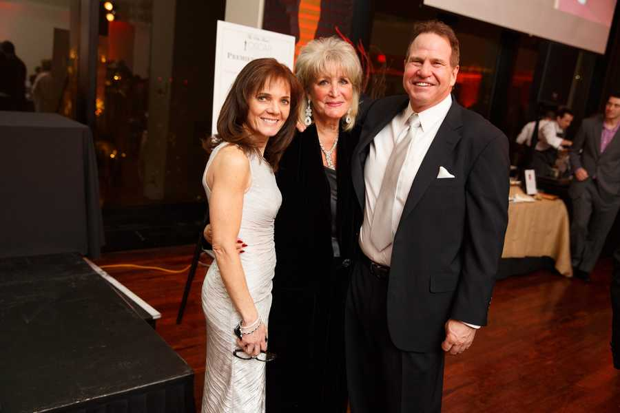Christie Coombs, Susan Wornick and Ken London