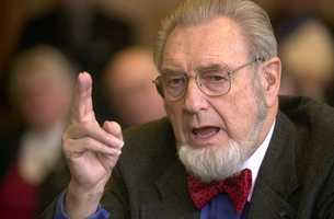 C. Everett Koop raised the profile of the nation's surgeon general by speaking frankly about AIDS and the dangers of smoking. Surgeons general before Koop were low-profile, but Koop operated from a bully pulpit for seven years during the Reagan and George H.W. Bush presidencies.  (October 14, 1916 – February 25, 2013)