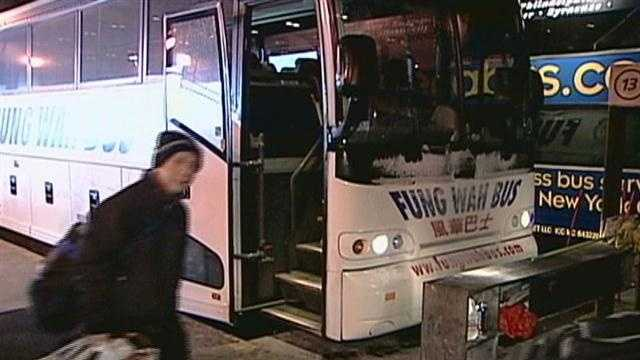 Most of Fung Wah bus fleet parked after safety inspections
