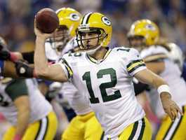11) Aaron Rodgers - Green Bay Packers Quarterback$9,250,000