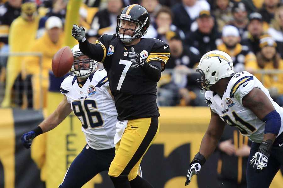 6) Ben Roethlisberger - Pittsburgh Steelers - $11,600,000