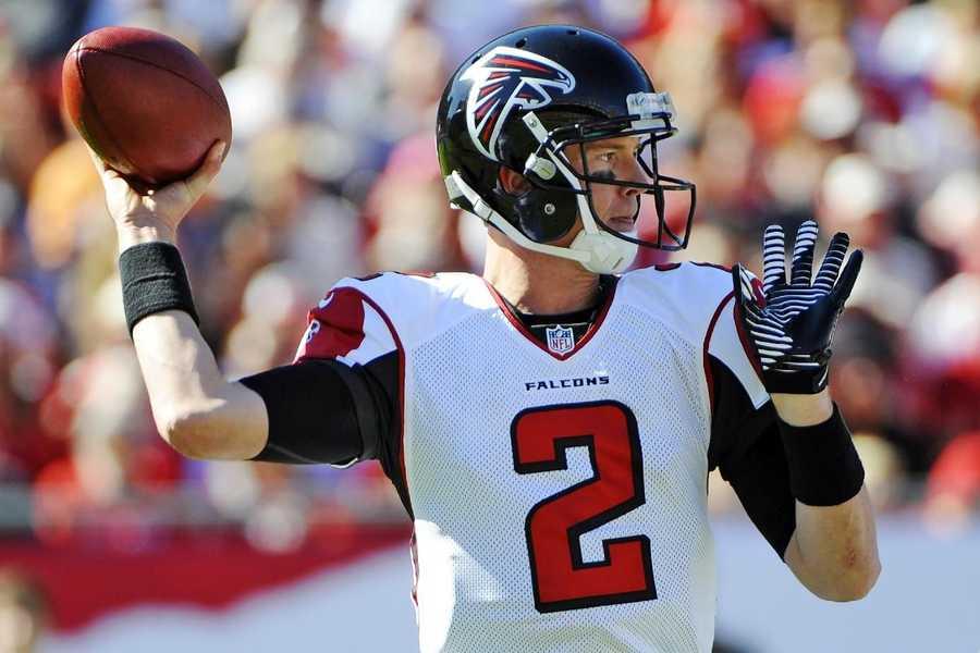8) Matt Ryan - Atlanta Falcons Quarterback - $10,000,000