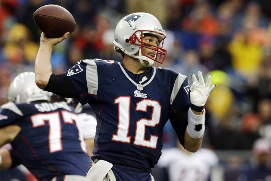 9) Tom Brady - New England Patriots Quarterback - $9,750,000