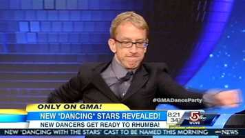 Andy Dick is a comedian, actor, writer, director, musician and producer.He is teamed up with professional dancer Sharina Burgess.