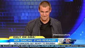 "Soap opera star Ingo Rademacher is best known to audiences as the charismatic Jasper ""Jax"" Jacks on ABC's General Hospital.His professional partner is Kym Johnson."