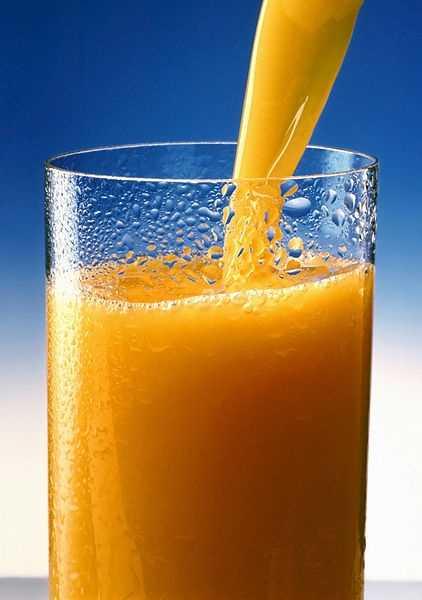 Beverage -- 1 cup orange juice