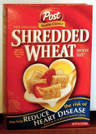 BREAKFAST Cold cereal: 1 cup shredded wheat ½ cup sliced banana ½ cup fat-free milk1 slice whole wheat toast 2 tsp all-fruit preserves