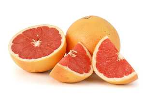 1/2 large grapefruit