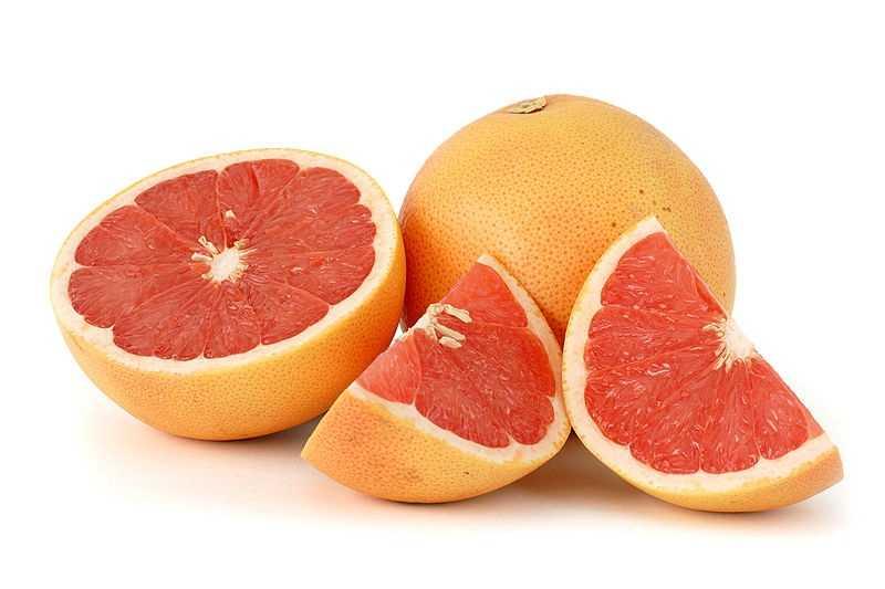 1/2 large grapefruit