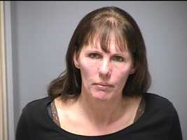 Patricia Bouchard was charged by Manchester NH police with Disorderly Conduct and Resisting Arrest.