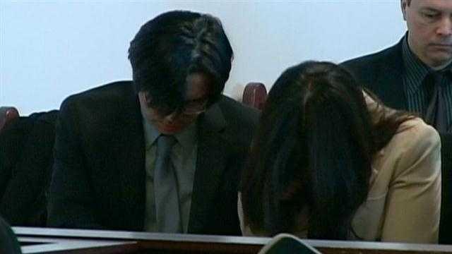 Fujita's parents also sobbed.