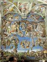 Michelangelo's The Last Judgment.