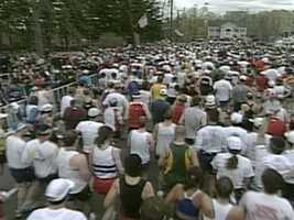 It was baptism by fire when Simoneau started at the Continental. His first day on the job was the day after the city's 100th Marathon. It brought 40,000 runners to town.