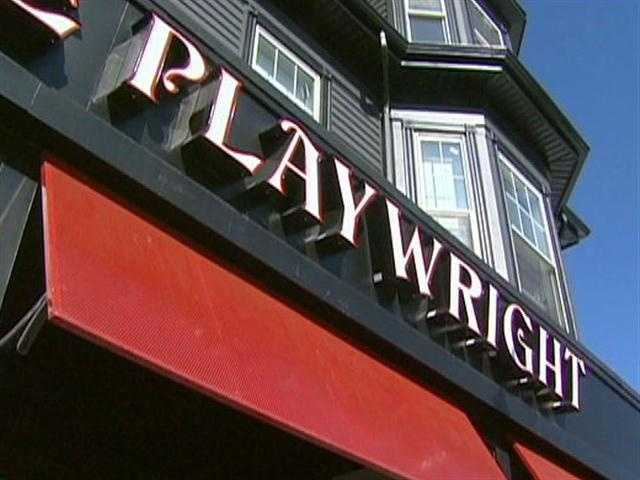 Marc's favorite watering hole is the Playwright, in Southie.