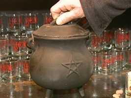 Here's your cast iron cauldron.