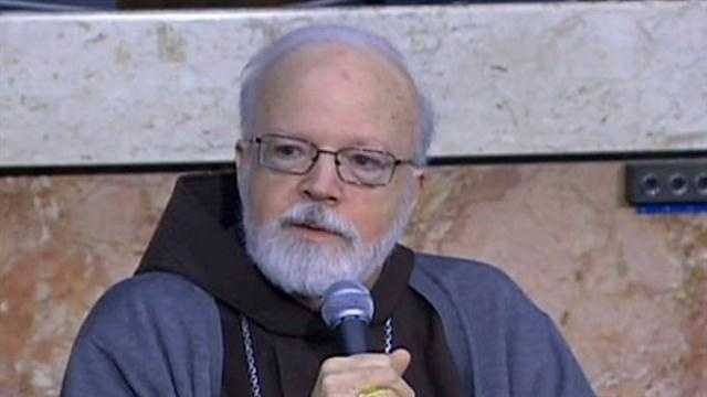 Boston Cardinal Sean O'Malley said he was moved by the size of the massive crowds that gathered in Vatican City and across Rome for the departure of Pope Benedict XVI.