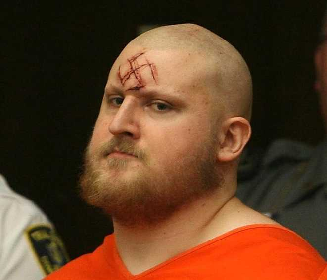 Keith Luke is the man found guilty of a cold-blooded murder spree in Brockton who once showed up in court with a swastika carved into his forehead.