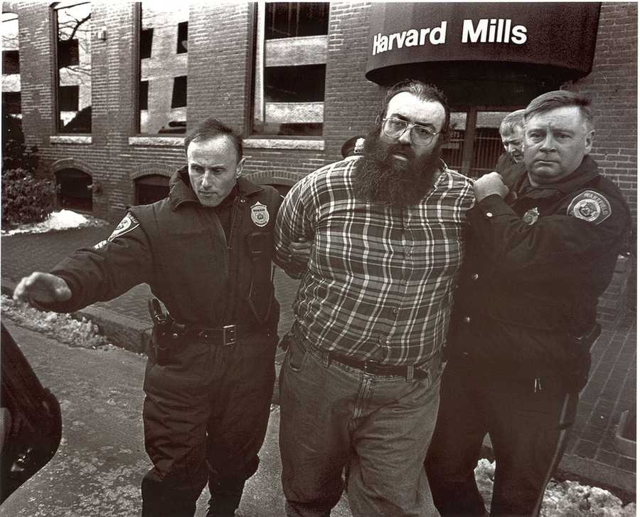 "Michael ""Mucko"" McDermott, a support employee, shot and killed seven co-workers at Edgewater Technology in Wakefield, Mass. on Dec. 26, 2000."