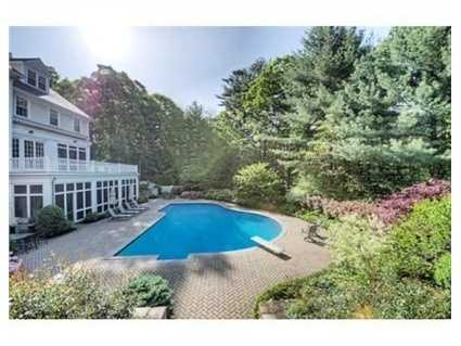 The property is professional landscaped.