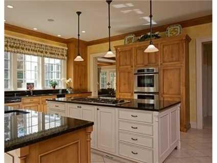 A gorgeous chef's kitchen.