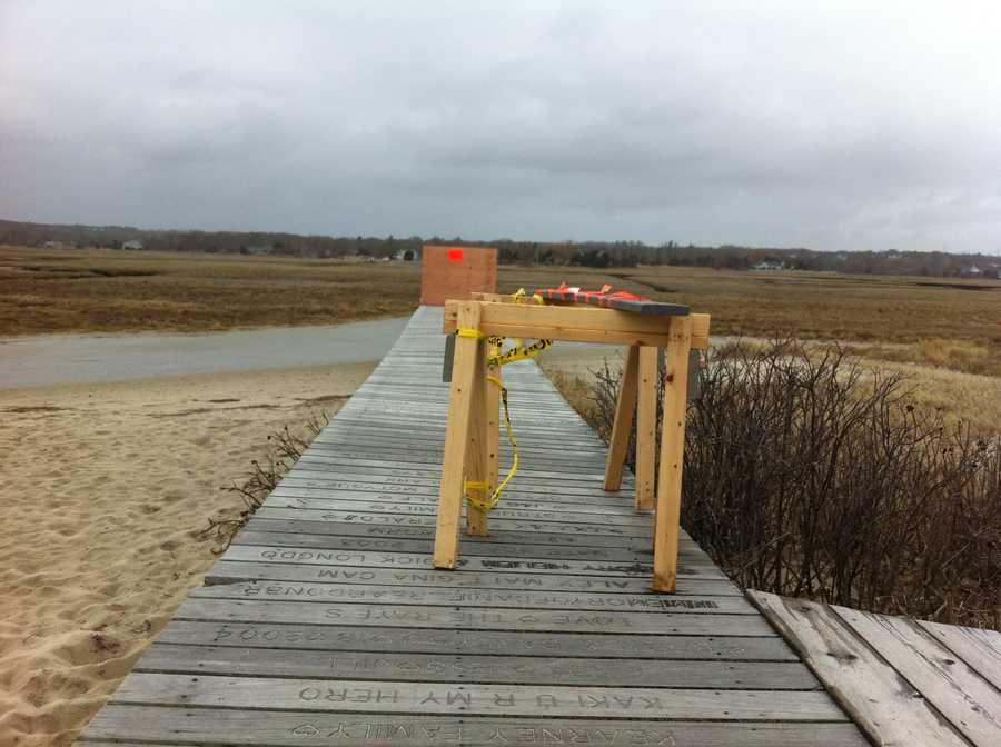The boardwalk in Sandwich