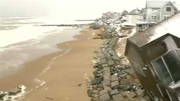 """""""All hell has broken out up here,"""" Plum Island resident Bob Connors said."""