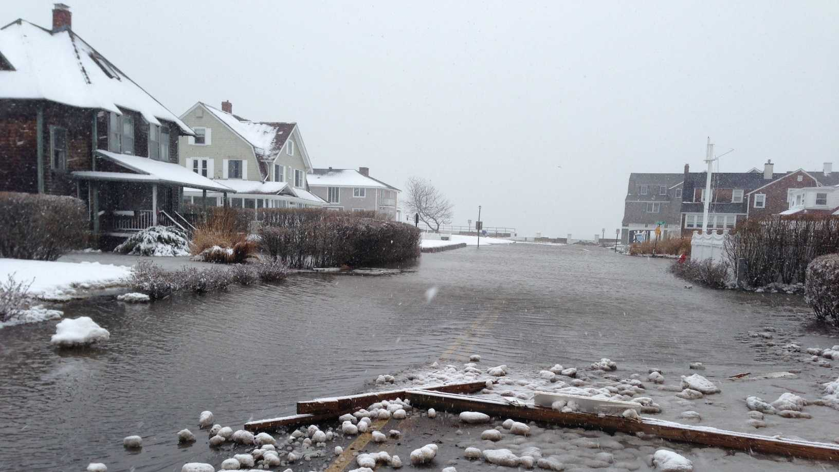 Gannett Road in North Scituate.