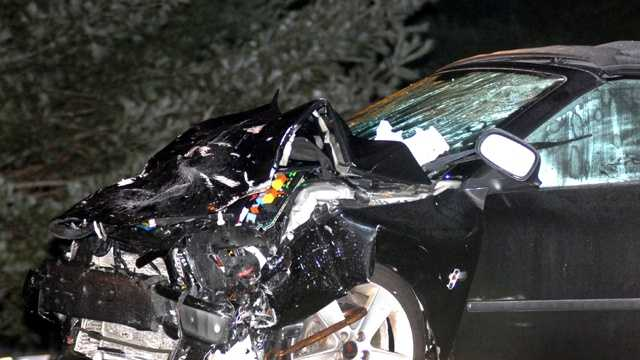 One person was killed in a two-car crash in Middleborough Saturday night, police said.