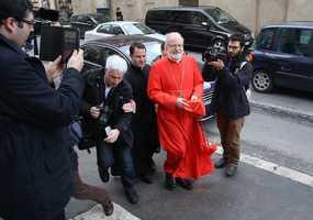 Cardinal Sean O'Malley celebrated Mass in Italian Sunday morning at his Titular Church Santa Maria Della Vittoria in Rome.