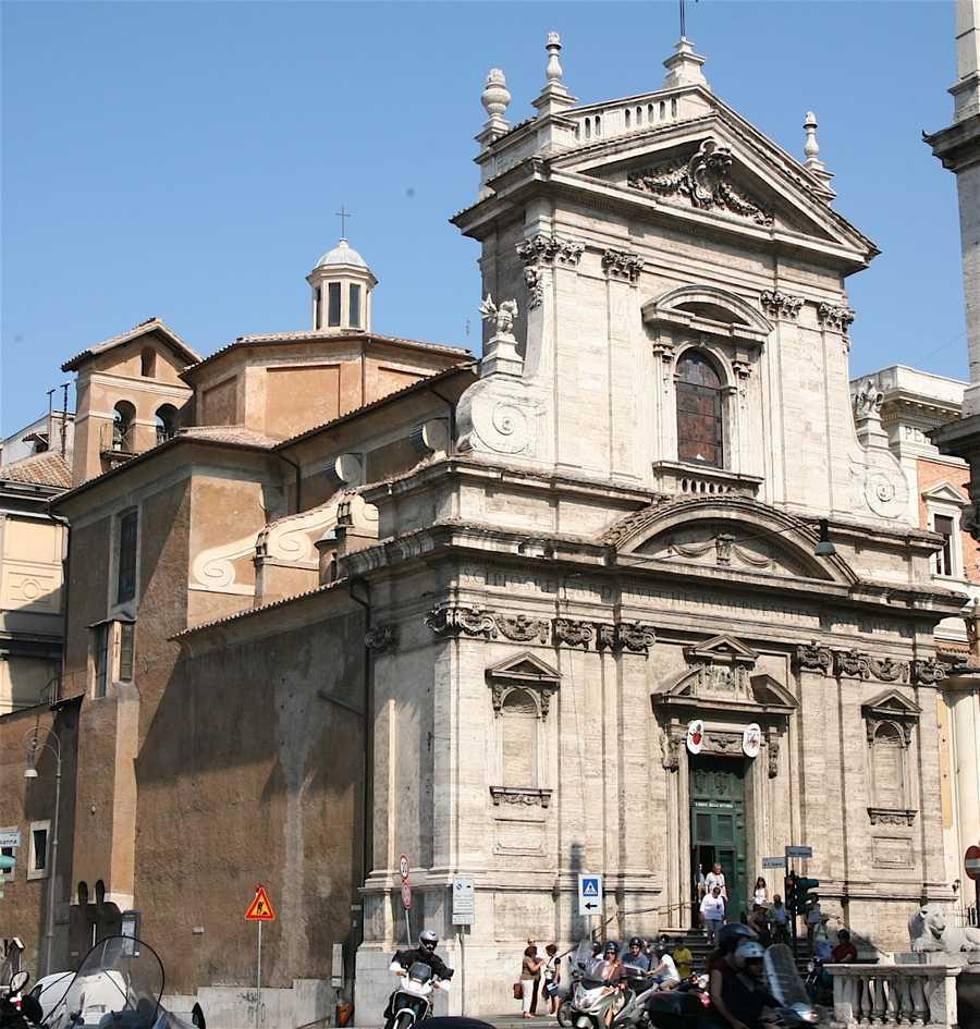 Each Cardinal of the Catholic Church has a titular church in Rome. For Boston's Cardinal Sean O'Malley it is Santa Maria della Vittoria.