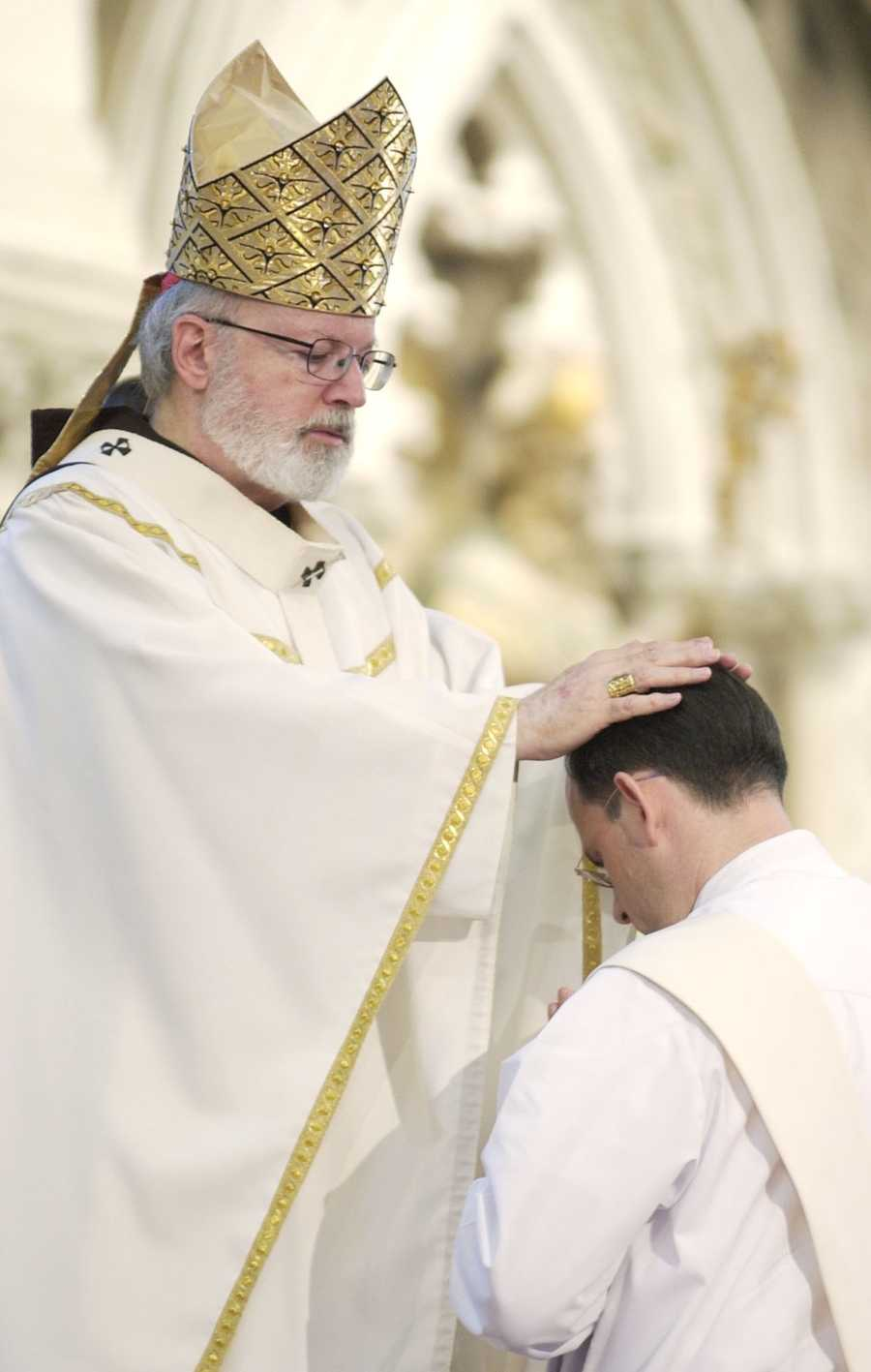 May 26, 2007: Cardinal Sean O'Malley ordains Father Andreas Davison