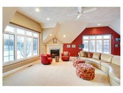 A generous family room.