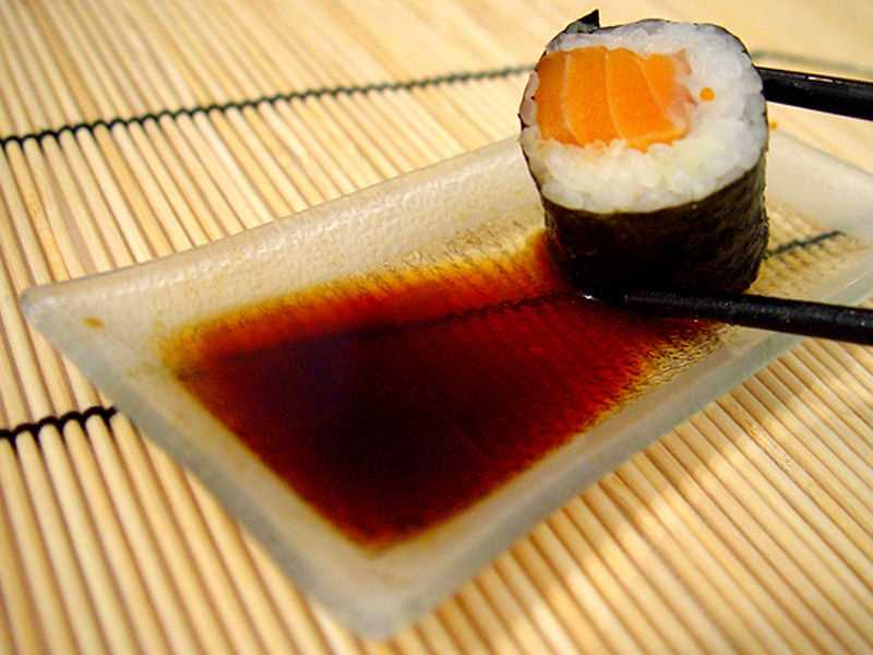 Soy sauce can really do some damage to your sodium levels.