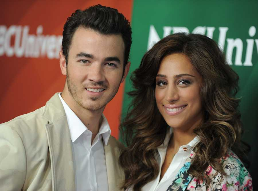 Kevin kept his on until he swapped vows with fellow virgin Danielle DeLeasa at the age of 22.