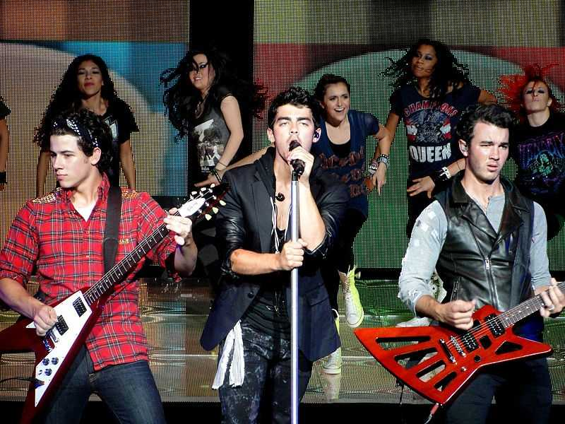 The Jonas Brothers were as popular for their purity rings as they were for songs.