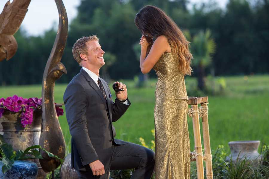"""This season's """"Bachelor""""said throughout the show that he planned to wait until his wedding night to have sex with the woman he proposed to."""