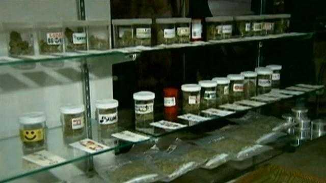 MEDICAL MARIJUANA STORE FIGHT