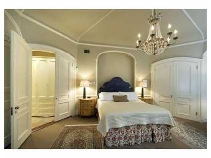 Each bedroom has its own bathroom.