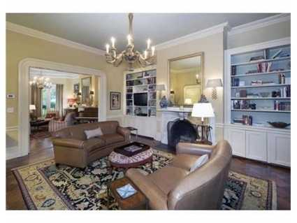 The home has two large reception rooms.