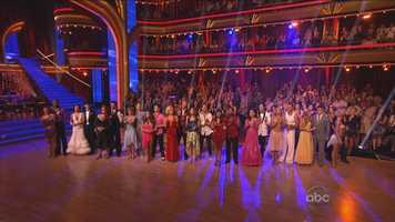 The latest season of Dancing with the Stars kicked off Monday night on ABC. 12 couples hit the dance floor for the first time.