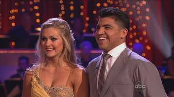 SCORES: 6, 6, 6 = 18 out of 30. Victor said he said yes to Dancing with the Stars when his jaw was basically falling off. Tom Bergeron joked that 'Dancing' gets most of its contestants when their judgment is impaired.