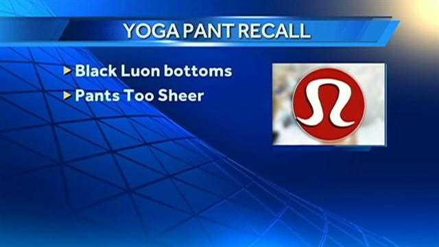 Lululemon Pants Recall graphic