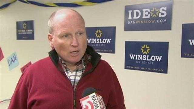 Senate candide gets endorsement he isn't celebrating