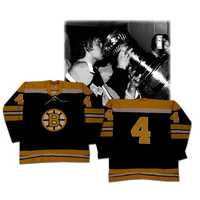 Bobby Orr's 1972 Stanley Cup Finals Game Boston Bruins jersey.