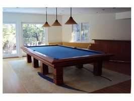 Your own game room.