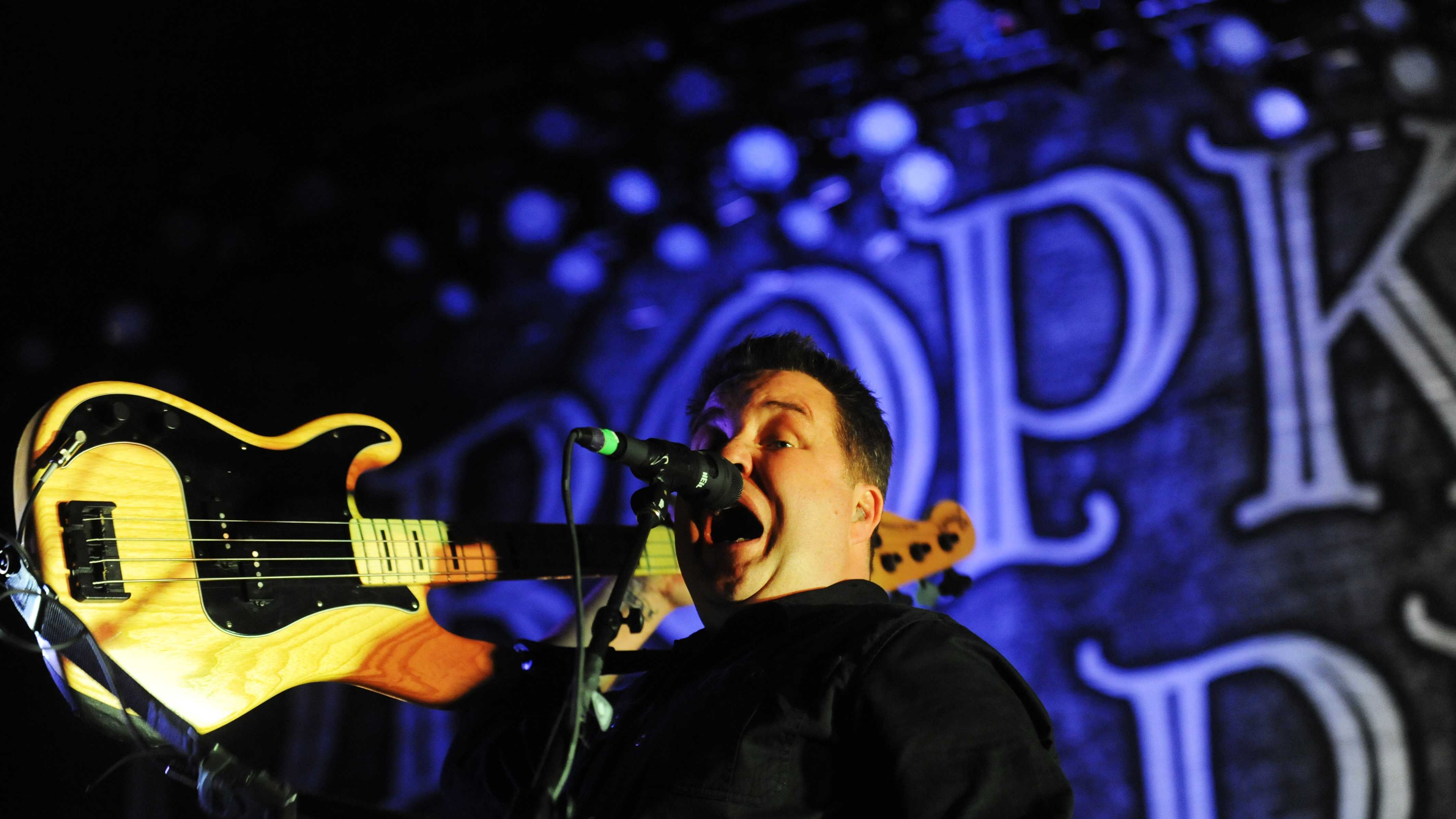 Dropkick Murphys Ken Casey Performs