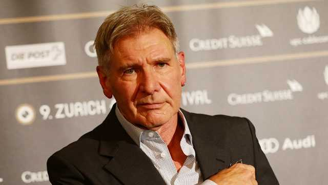 Harrison Ford blurb