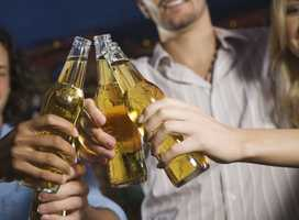 Of the 1,223 people sampled in Franklin County, 19% were classified as excessive drinkers.