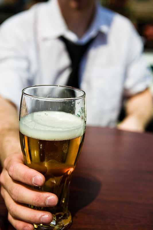 Of the 1,819 people sampled in Hampshire County, 18% were classified as excessive drinkers.