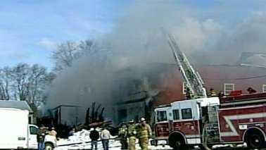 Litchfield Barn Fire